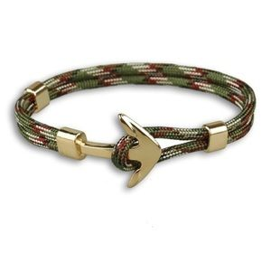Other - 🎁 Silver Anchor Paracord Bracelet
